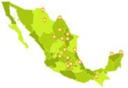 Mapa Sucursales Enjoy Languages